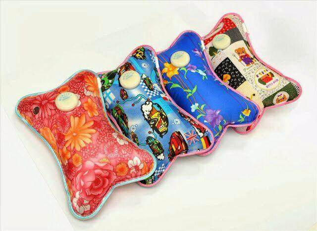 Portable Electrothermal Electric Hot Water Bag By Charming Lady