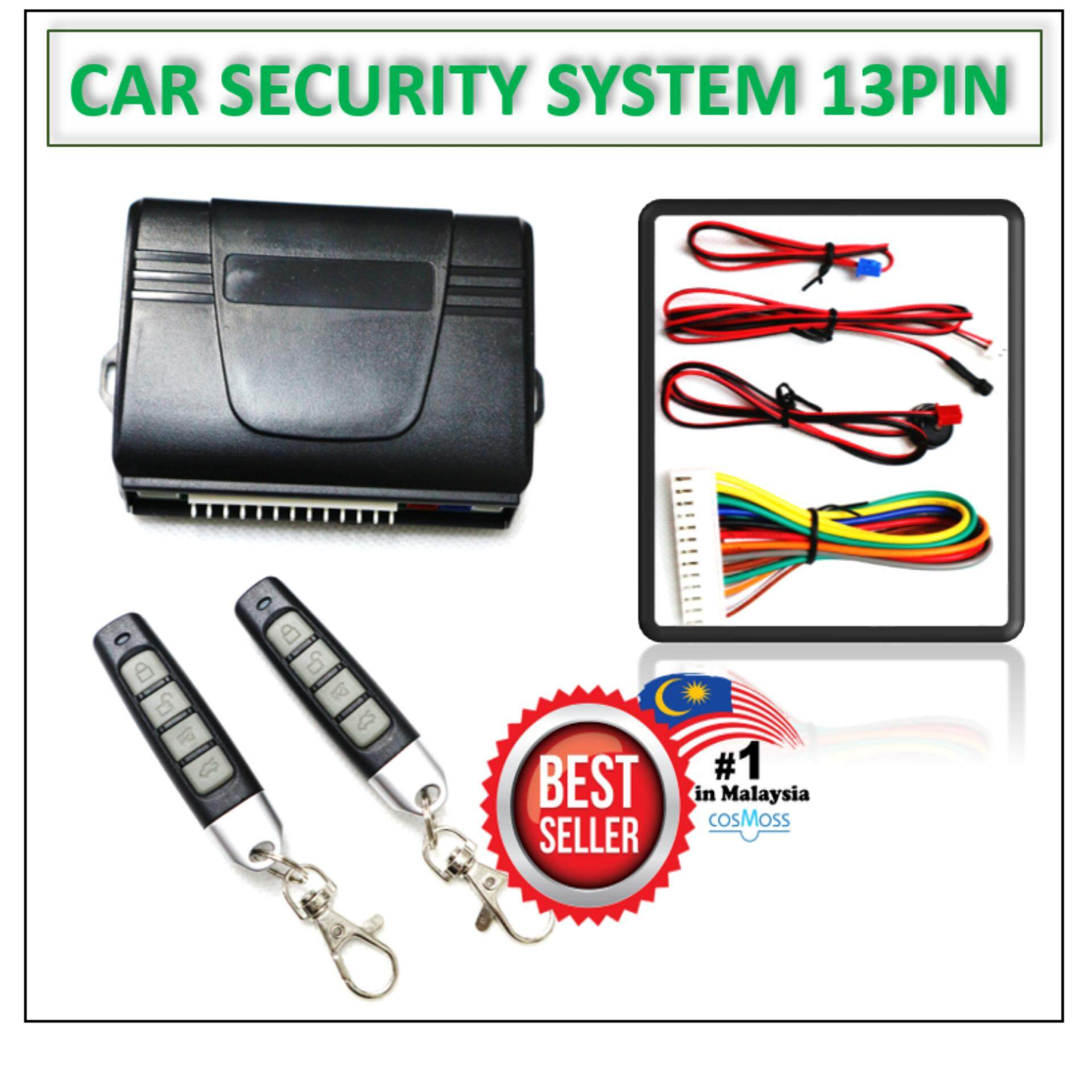 Alarm 081 - Car Security System (13 PIN) T-MAZ on