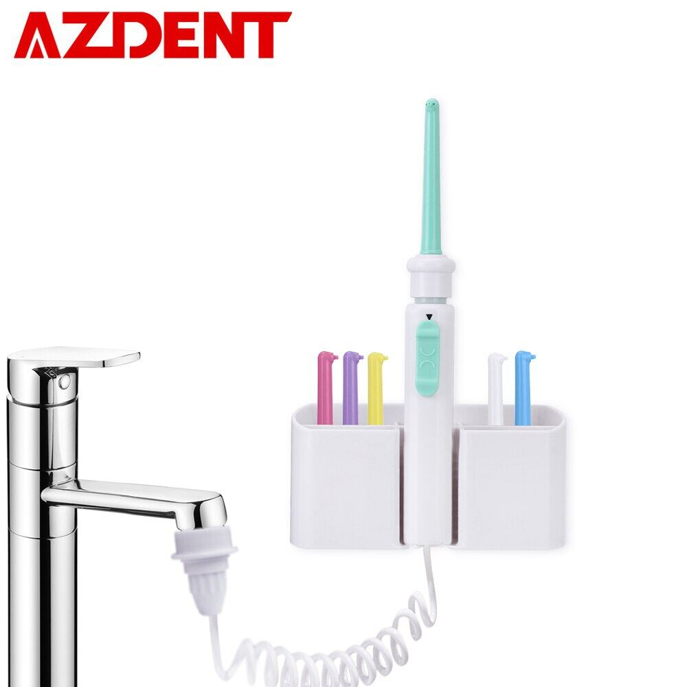 Vòi 6 Vòi Phun Nóng, Máy Phun Nước Tăm Nước Nha Khoa, Bàn Chải Đánh Răng SPA Di Động Tưới Nước Miệng Làm Sạch Răng
