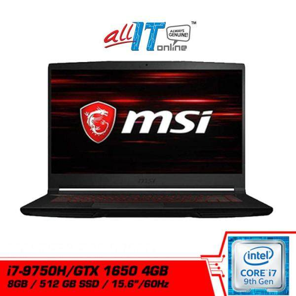 MSI GF63 Thin 9SCXR-603MY 15.6  Gaming Notebook (i7-9750H, 8GB, 512GB, GTX1650, W10H)**FREE MSI Gaming Backpack** Malaysia