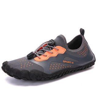 New Ngoài Trời Giày, Giày Năm Ngón Ngược Dòng Bãi Biển Bơi Giày, Giày Lội Nước Cỡ Lớn Cho Nam Trôi Lặn Khởi Động thumbnail