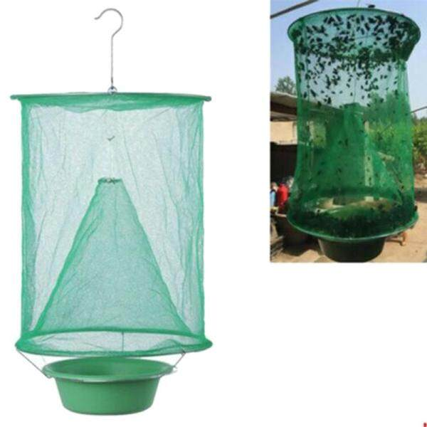 Folding Fly Cage Reusable Flycatcher Flycatcher Hanging Ranch Trap Catcher Flycatcher Most Effective Powerful Capture Suspension