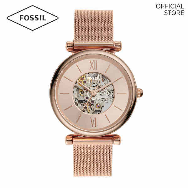 Fossil Carlie Rose Gold Watch ME3175 Malaysia