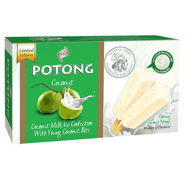 (KL & Selangor Delivery Only) F&N King's Potong Coconut Flavoured Ice Cream (6s x 60ml)