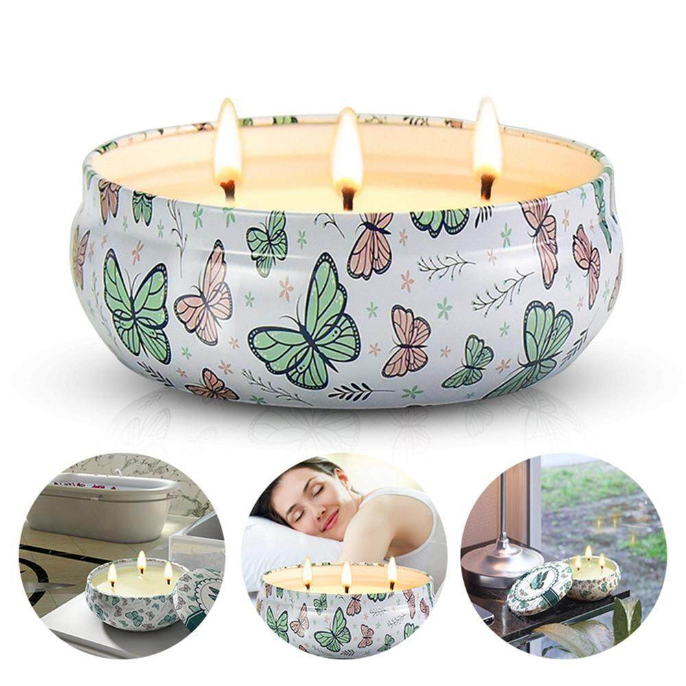 G&B Good Breeze Wax Aromatherapy Candle 3 Wick Candle Soy Wax for Stress Relief and Aromatherapy