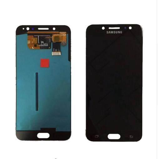 LCD Layar Pendigit untuk Samsung Galaxy J7 Plus J7 + Layar LCD Lengkap Panel Layar Sentuh Digitizer Perbaikan Parts 5.5 Inches untuk Galacy C7 2017
