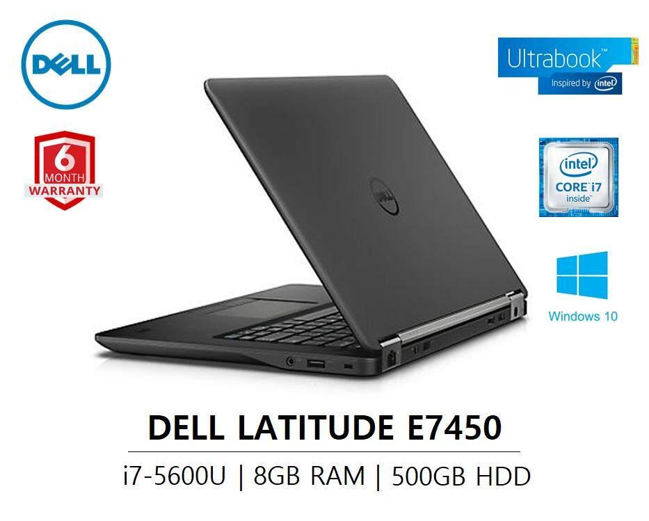 Dell Latitude E7450 / i7-5th GEN / 8GB RAM DDR3  / 500GB HDD -ULTRABOOK [REFURBISHED] 6 MONTHS WARRANTY Malaysia