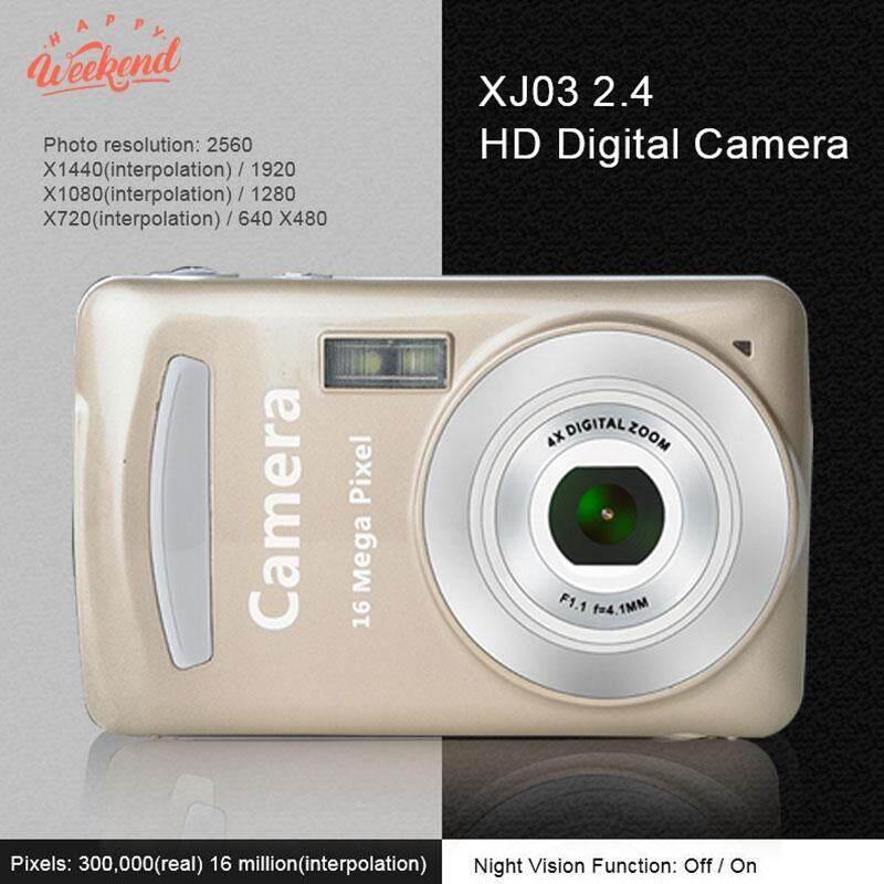 Giá Cực Tốt Khi Mua Máy ảnh Máy Ảnh Kỹ Thuật Số Thẻ Camera Di Động Ổn Định Đen 2.4 ''LCD Ảnh ĐẦU GHI HÌNH Chụp Ảnh DV