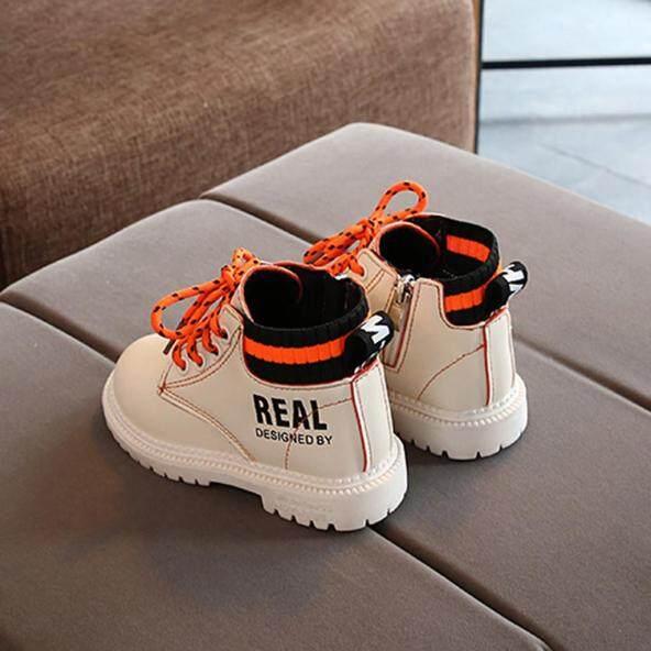 Giày Trẻ Em, Giày Trẻ Em Đế Mềm Giày Em Bé Bốt Ngắn Đến Mắt Cá Chân Cho Bé Trai Bé Gái Trẻ Mới Biết Đi Giày Buộc Dây Thường Ngày giá rẻ