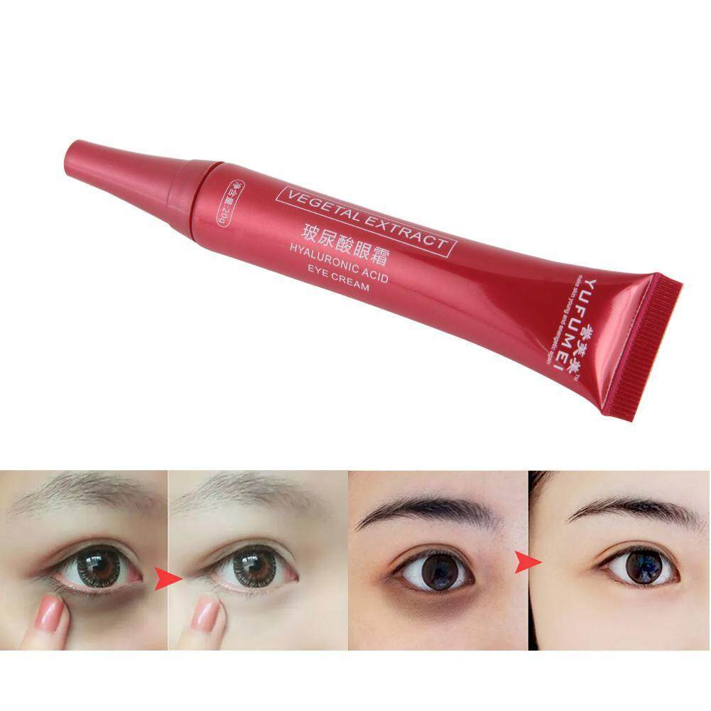 20g Hyaluronic Acid Eye Cream Eliminate Dark Circles Fat Granule Firming  Eye Essence