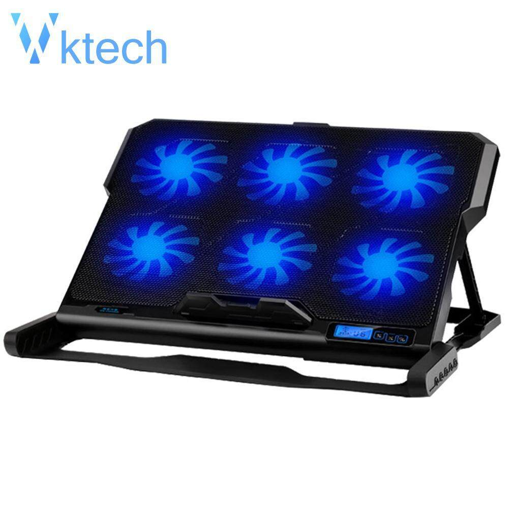 [Vktech] ICE COOREL K6 2 USB Laptop Cooler 6 Cooling Fan Notebook Holder Pad Stand