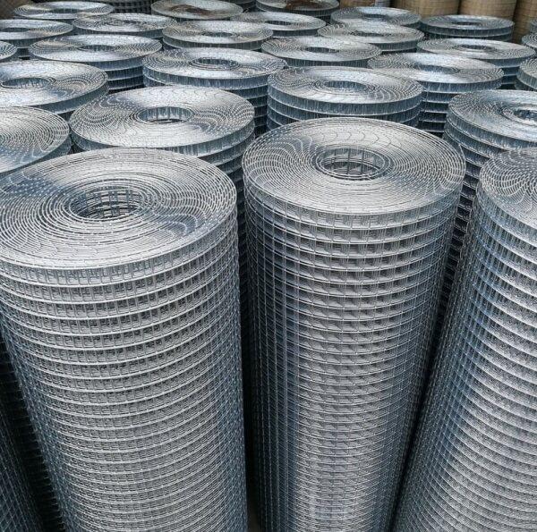 15 Meter(50 Feet) Dawai Jaring Galvanized BRC Welded Iron Wire Mesh Net Netting 🔥Ready Stock🔥