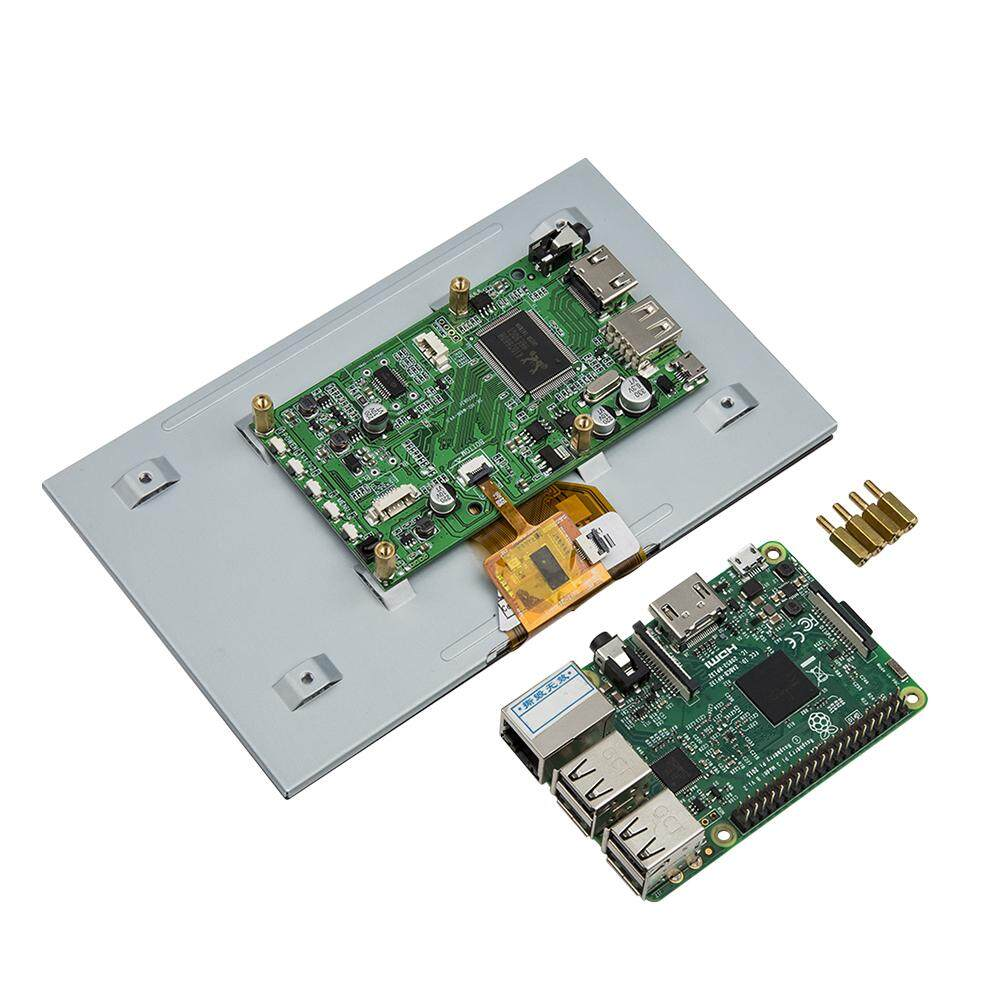 7 Inch Capacitive Touch Screen Motherboard TFT LCD Display HDMI Module Support for Raspberry Pi System with HDMI input &computer connection Malaysia