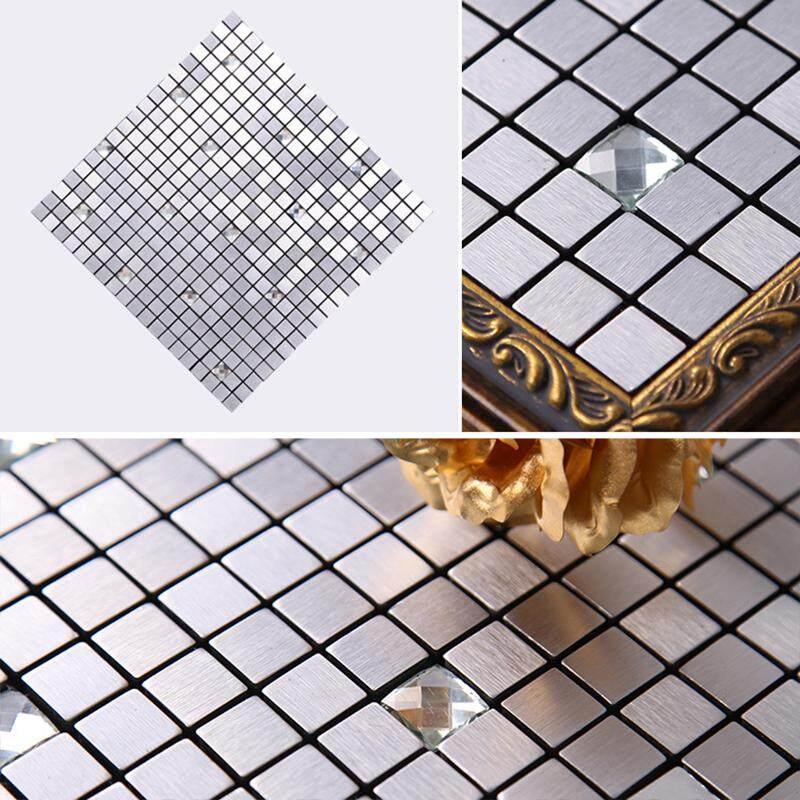❥Gracekarin Online Self-adhesive Mosaic Backsplash sticker applique kitchen peel and stick wall tiles
