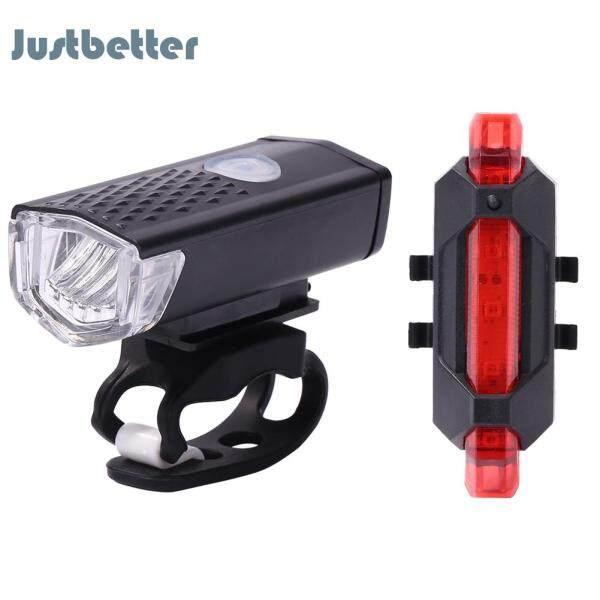Đèn Pha LED Cho Xe Đạp, Thiết Bị Đèn Hậu Sạc USB