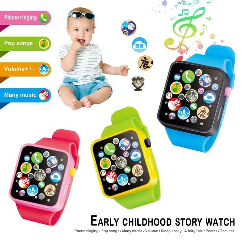 yuci Kids Children Smart Watch Early Education 3D Touch Screen Music Smartwatch Learning Machine ABS Wristwatch Toy Malaysia