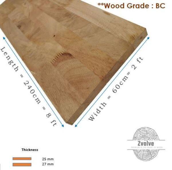 Pine Wood Board 18mm x 60cm x 240cm (Grade BC) | Kayu Papan | Kayu Pine | Papan DIY | Papan Pine |