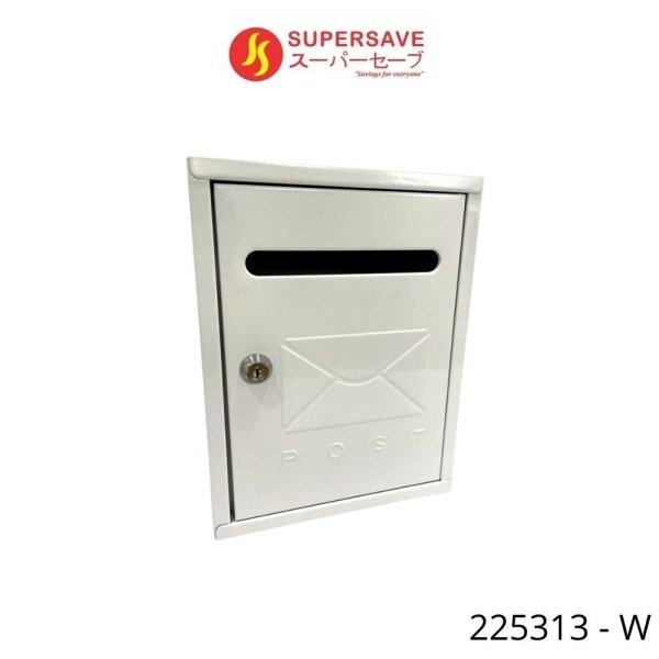 Metal Letter Box Wall Mount Mail Box with Keys lock Outdoor Peti Surat