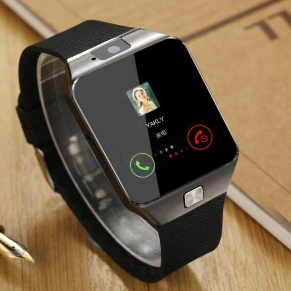 DZ09 Touch Screen Smart Watch With Camera Bluetooth WristWatch SIM Card Smartwatch For Ios Android Phones Support Multi language Malaysia