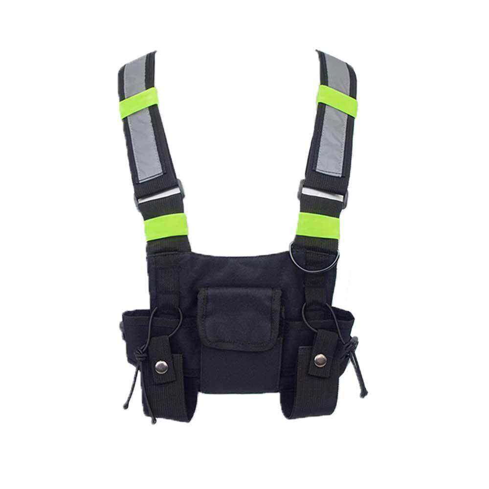 Onlook Security Tactical Vest Green Glow Black Green Shoulder Strap By Onlook.