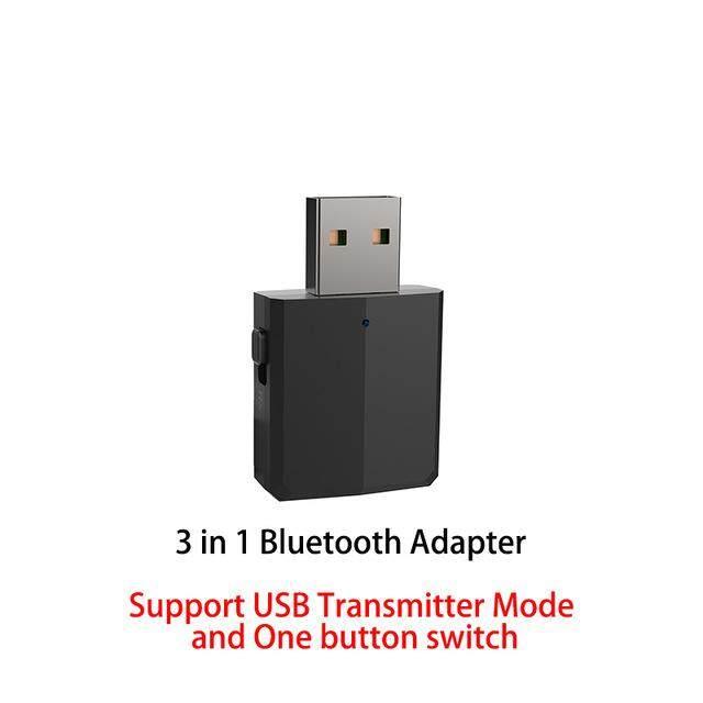 Giá 5.0 USB Phát Bluetooth Cho Tivi 3.5 Mm Mini Bộ Thu Bluetooth AUX Stereo Âm Nhạc Với Thay Đổi Chuyển Đổi Không Dây Adapter