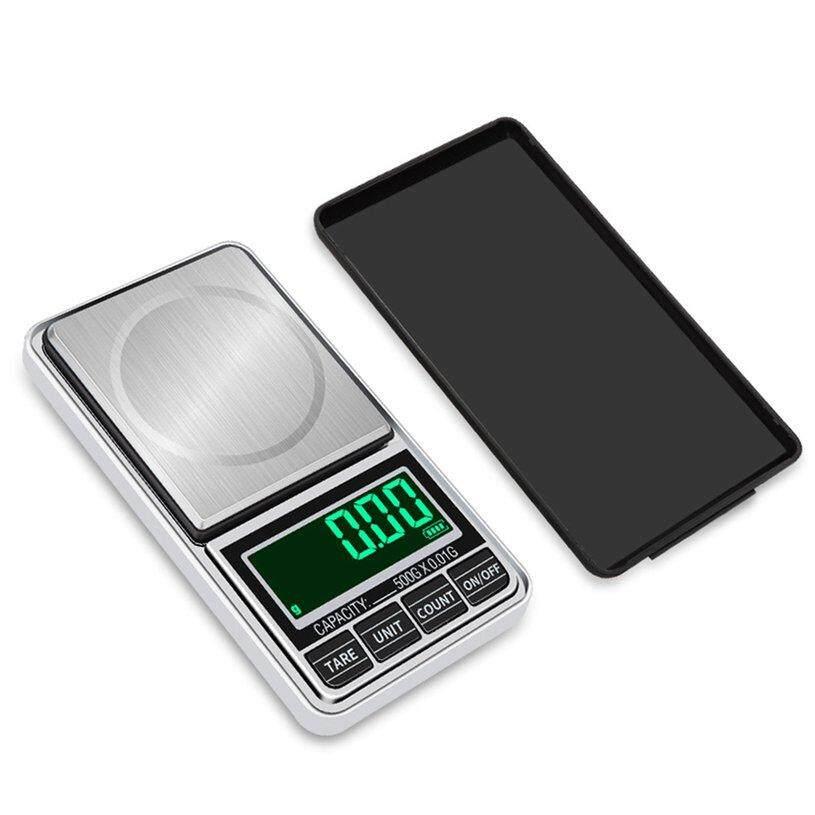 TÍN Túi Kỹ Thuật Số Trang Sức Nặng Quy Mô Cao Cấp Sạc USB 100 gam/0.01 gam