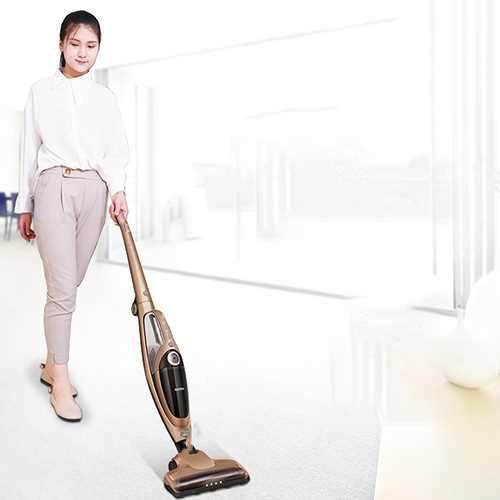 ITTAR RC16B 30W Suction Wireless Push Rod Vacuum Cleaner (Champagne Gold)