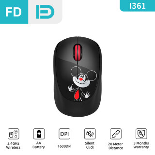 [NEW] FD I361 Wireless Mouse, 2.4G Silent Click Basic Mice, Children Kid Mini Mouse with Nano Receiver, 1600 DPI Precise Control for Notebook Computer PC Laptop MacBook and Chromebook thumbnail