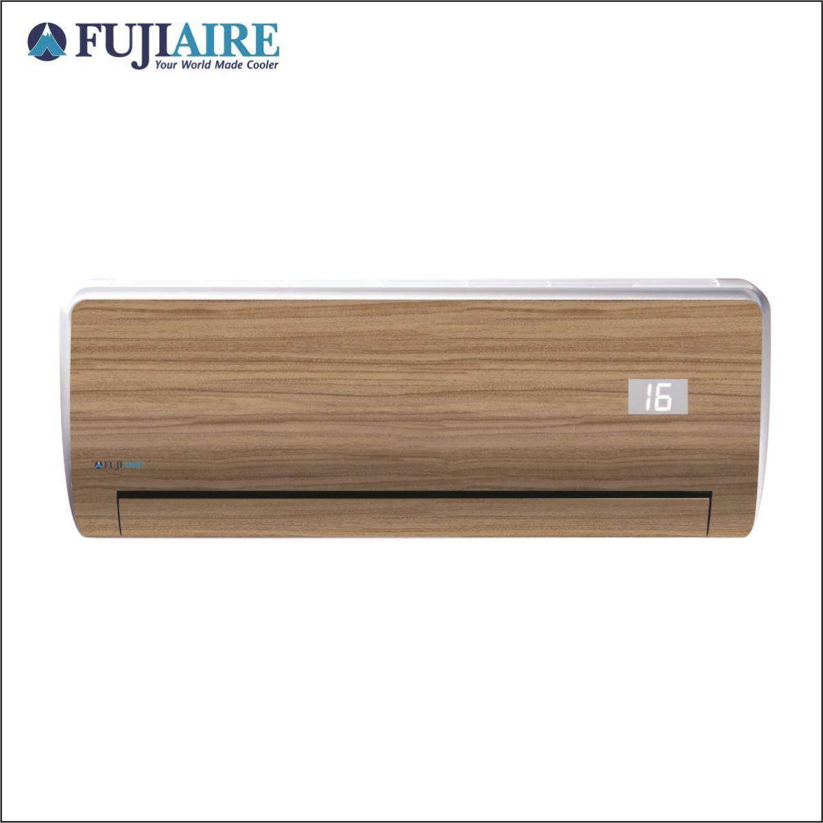 [Pre Order] FUJIAIRE Air Conditioner 1.5hp (R410) Skin Series - WOOD 0003