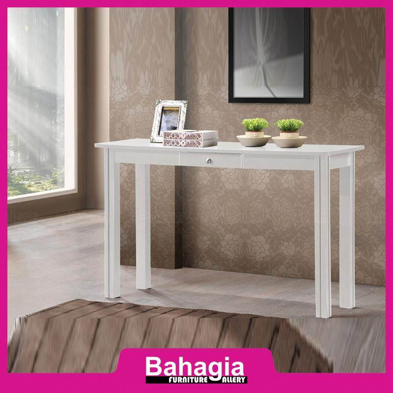 BAHAGIA Console Table - White