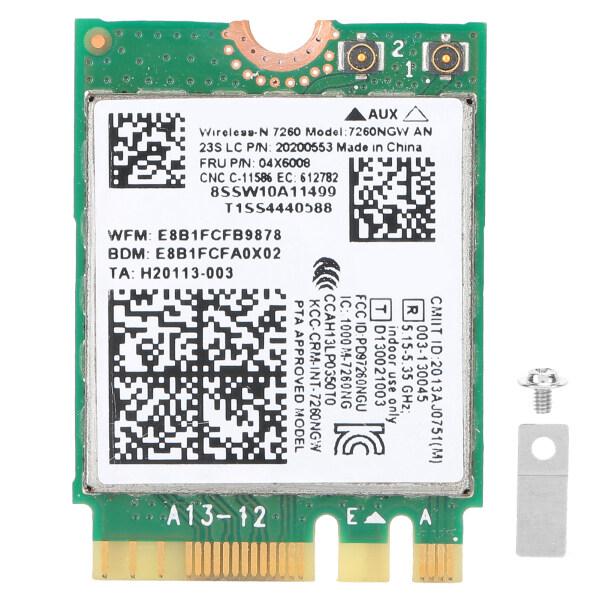 Bảng giá Card Mạng Không Dây 7260NGW AN WIFI 2.4G/5G 300Mbps + Bluetooth 4.0 NGFF M.2 Dành Cho Lenovo Thinkpad X240/X230S/T440S/T431 Phong Vũ