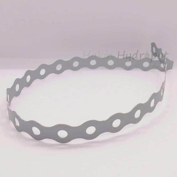 1 pair 50cm - 17mm hole Steel Band