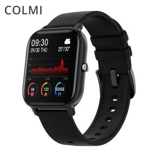 COLMI Đồng hồ thông minh P8 thời trang nữ với màn hình cảm ứng 1.4 inch có tính năng theo dõi sức khoẻ áp suất GTS giá tố - TVC Mall - INTL,colmi p8 2021,colmi p8 plus,colmi p8w,đồng hồ colmi p8,đồng hồ colmi p8 2021, shop colmi thumbnail