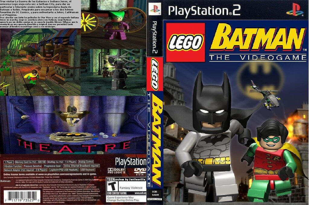 Lego batman playstation 2 games movie theater in vegas casino