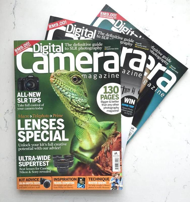 Digital Camera Magazine Issue 56,57,58 (set of 3) Malaysia