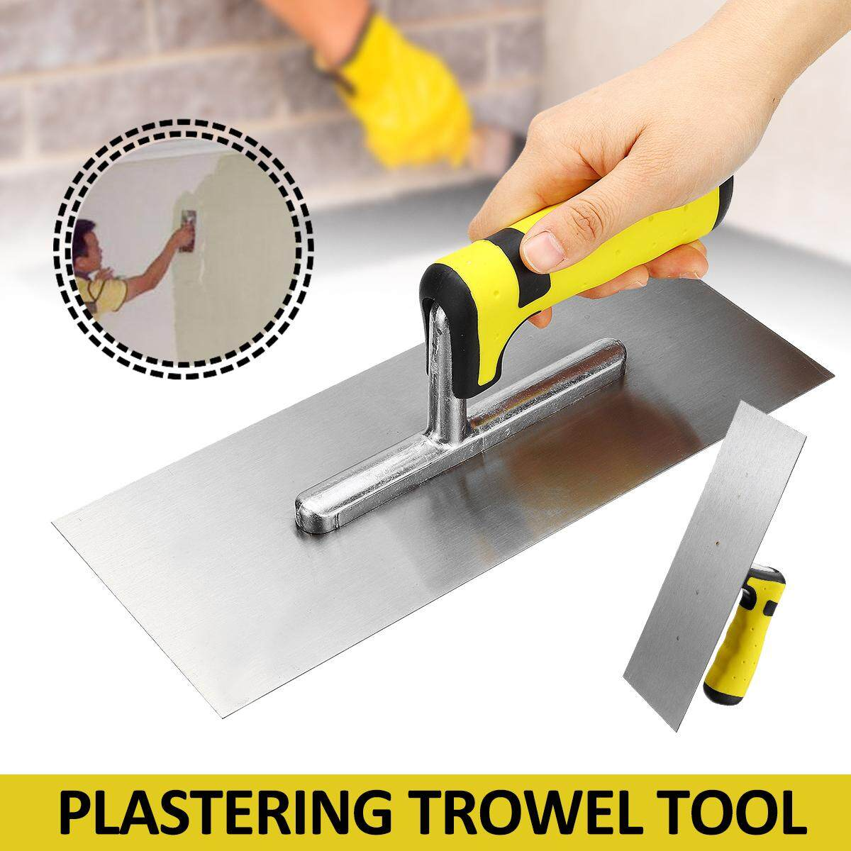 11 Inch Professional Stainless Steel Plasterers Plastering Finishing Trowel