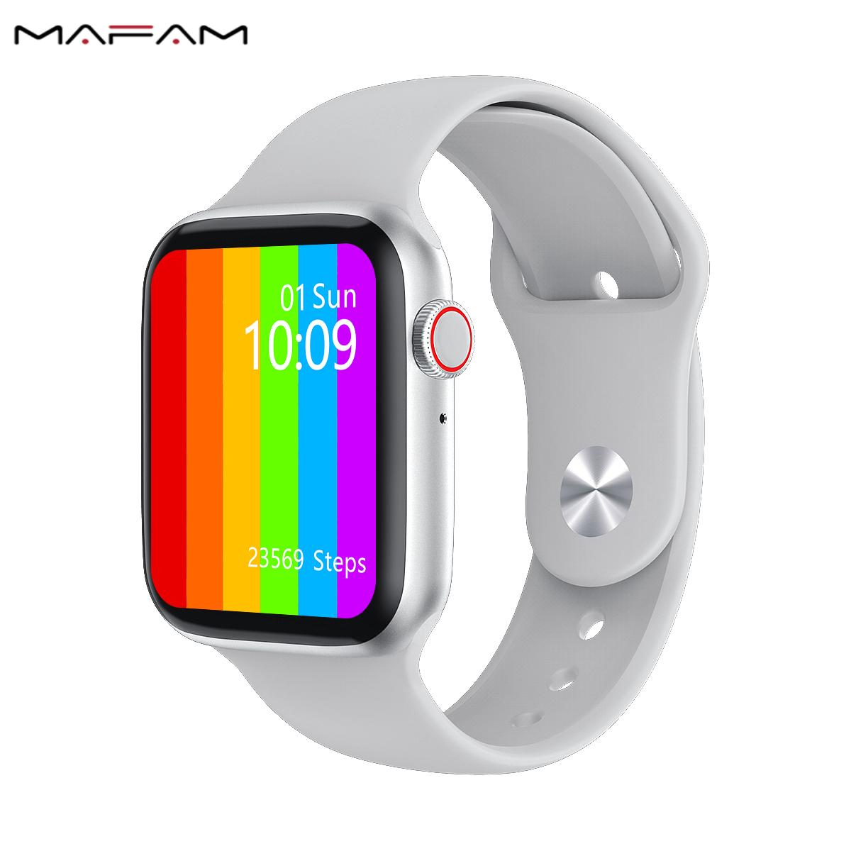 2020 IWO W26 Thông Minh Loạt Đồng Hồ 6 1.75 Inch Cảm Ứng Đầy Đủ Màn Hình ECG PPG Theo Dõi Nhịp Tim Bluetooth Cuộc Gọi Không Thấm Nước Smartwatch IWO 15