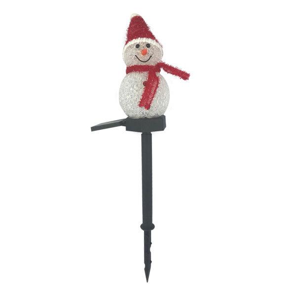 Bảng giá LED Năng Lượng Mặt Trời Snowman Spike Ánh Sáng Vườn Đất Lối Đi Thảm Cỏ Giáng Sinh
