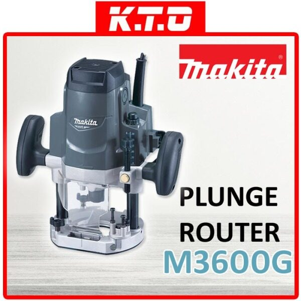 MAKITA M3600G PLUNGE ROUTER 12MM 1/2 1650W