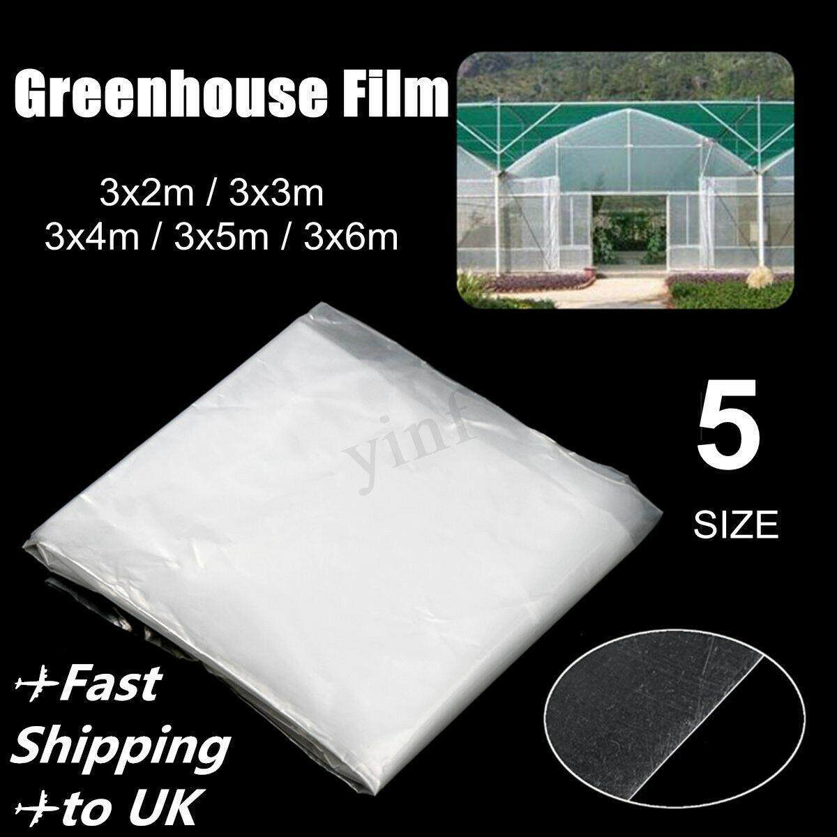 FengSheng   Heavy Duty Greenhouse Clear Film UV Plastic pre-cut 200μ  5.5Mil(0.12mm) UV Stabilised Garden Plant Protector