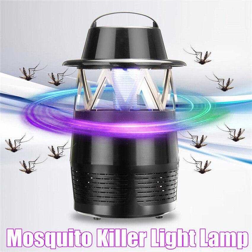 Điện Tia UV Đèn Diệt Muỗi Côn Trùng Nướng Bay-Con Bọ Zapper Bẫy Bắt Đèn