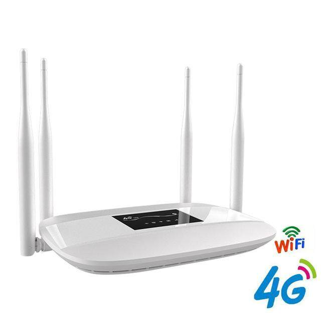 Unlocked 300mbps Wifi Routers 4g Lte Cpe Mobile Router With Lan Port  Support Sim Card Portable Wireless Router Wifi Router By Pluswfi Store