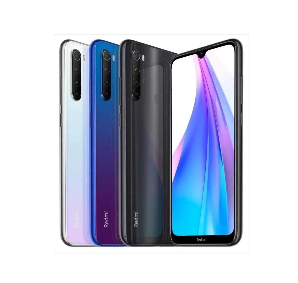 Xiaomi Redmi Note 8T NFC Fast Charge 3+32GB, 4+64GB [Global version] Smartphone Android Handphone