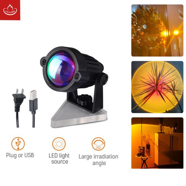 Bảng giá Máy Chiếu Đèn Hoàng Hôn, USB/Phích Cắm Đèn Chiếu Hoàng Hôn, Đèn LED Màu Vàng Hoàng Hôn Cho Phòng Trang Trí Trong Nhà