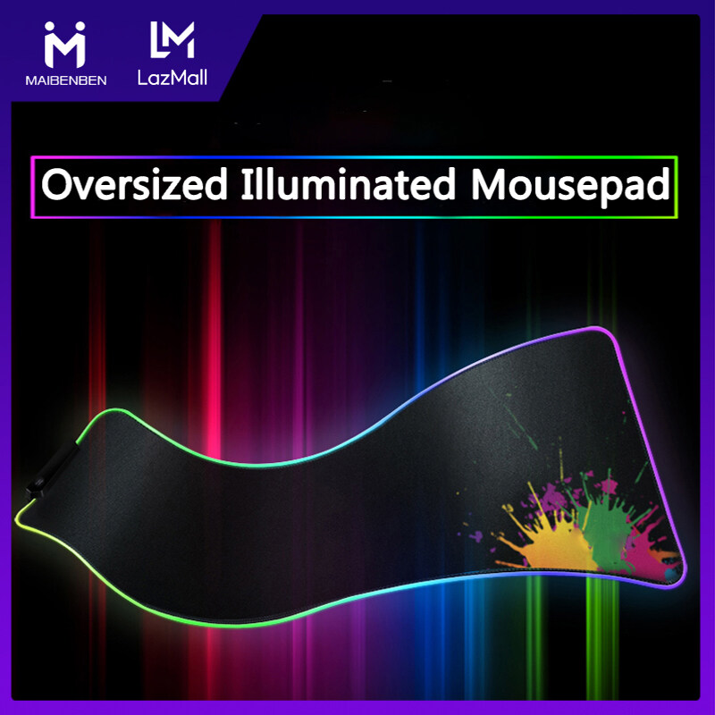 Giá Maibenben Gaming Mousepads illuminated Mouse Pads Computer Accessories Oversized RGB Glowing Mousepad For Desktop Laptop Free Shipping SLMP LLMP NMP