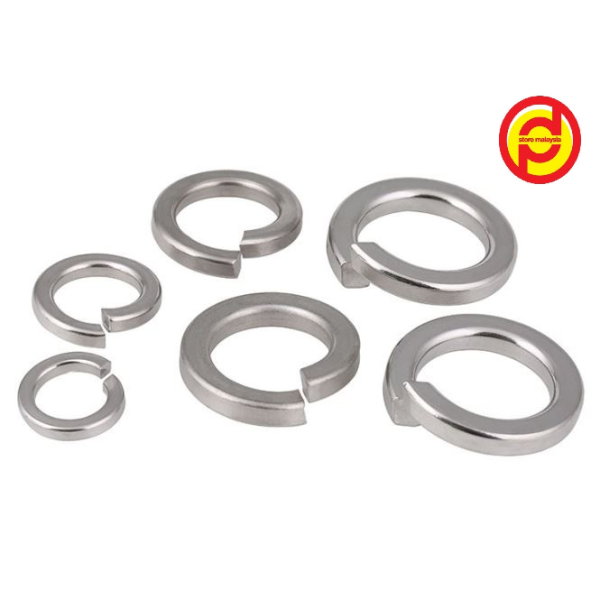 S/S Spring Washer M6 ~ M10 (Stainless Steel 304)