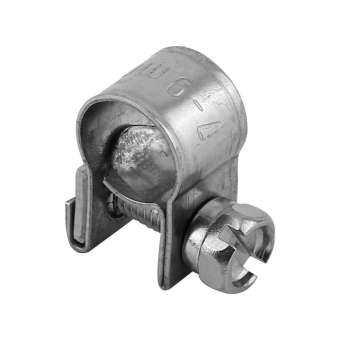 Price ราคาเซอร์ไพร์ส】 10 ชิ้นสแตนเลสขนาดเล็กท่อน้ำมันเชื้อเพลิงท่อหนีบคลิป 6mm-20mm ขนาดที่เลือกได้