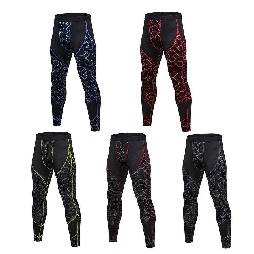 b7515f6c9924c8 ANEXT Men Compression Cool Fast Dry Sports Tights Pants Baselayer Running  Leggings