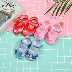 Giày Vải Voan Họa Tiết Hoa Cho Bé Gái Giày Đi Bộ Công Chúa Ren Co Giãn Cho Bé Giày Trẻ Sơ Sinh Trẻ Mới Biết Đi Màu Trơn Đế Mềm Dễ Phối