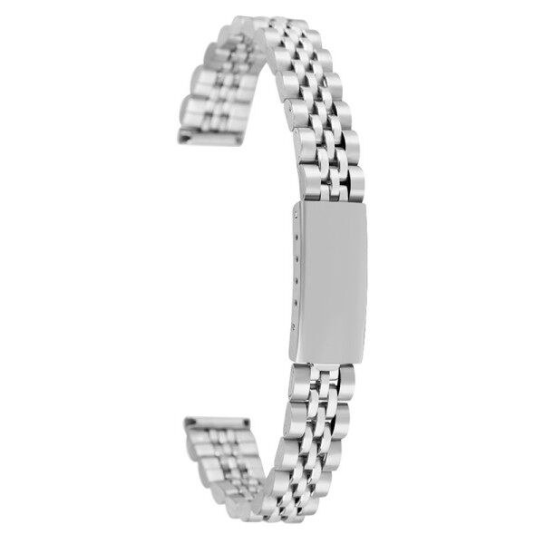 AIKEN 12mm Silver Stainless Steel Watch Band Bracelet Strap Bracelet Replacement Malaysia